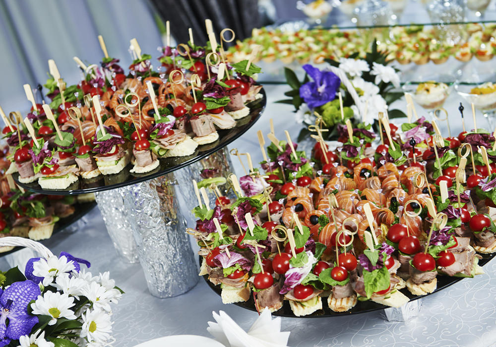 Fingerfood und Canapes